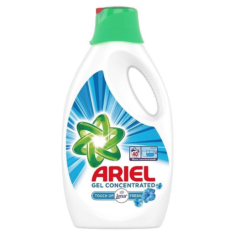 Ariel Touch of Lenor prací gel 2,2 l (40 praní)