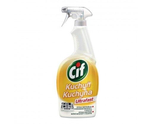Cif Ultrafast kuchyň čistící sprej 750 ml