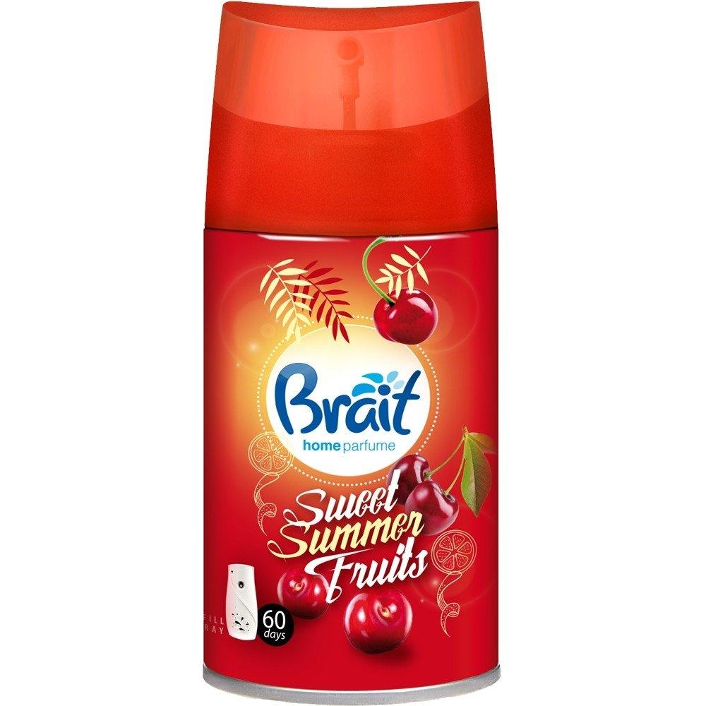 Brait Sweet Summer Fruits Náplň do osvěžovače vzduchu 250 ml