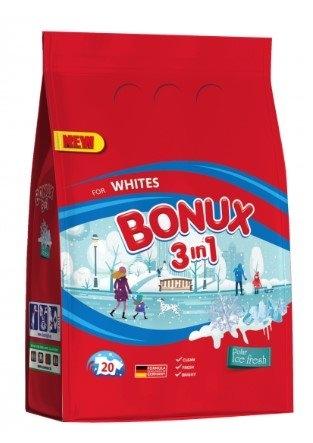 Bonux White Polar Ice Fresh prací prášek, 20 praní, 1,5 kg