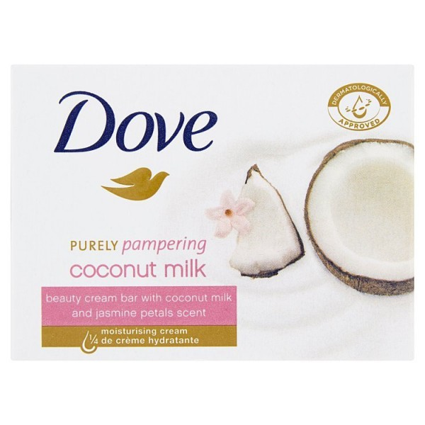 Dove mýdlo  Purely Pampering Coconut Milk 100g