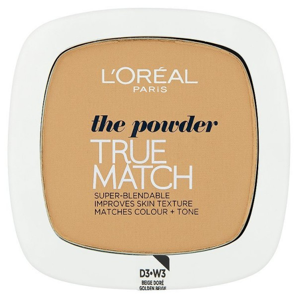 L'Oréal Paris kompaktní pudr True Match  Golden Beige W3
