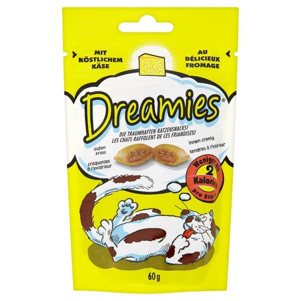 MS DREAMIES DREAMIES syrove pro kocky 60g 60 g