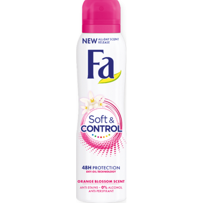 Fa Soft & Control deosprej 150 ml