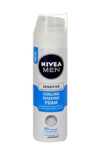 Nivea Men Sensitive Cooling pěna na holení 200 ml