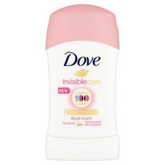 Dove Invisible Care Floral Touch tuhý antiperspirant 40 ml