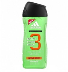 Adidas Active Start 3v1 sprchový gel 250 ml