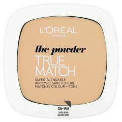L'Oréal Paris True Match kompaktní pudr  Golden Sand W5, 9 g