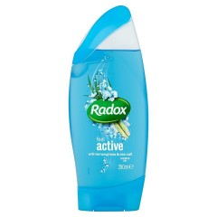 Radox Feel active lemongrass & sea salt sprchový gel 250 ml
