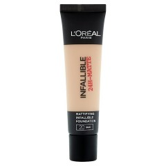 L'Oréal Paris Infallible 24h, zmatňující make-up Sand 20