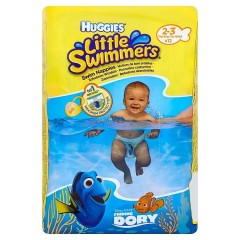 Huggies Little Swimmers plenky na plavání 2-3 12 ks