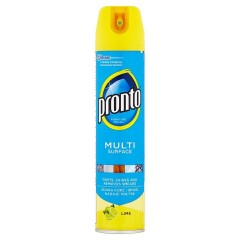 Pronto Multi surface čistič proti prachu, limetka 250 ml
