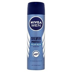 Nivea Men Antiperspirant Silver Protect Polar Blue 150 ml