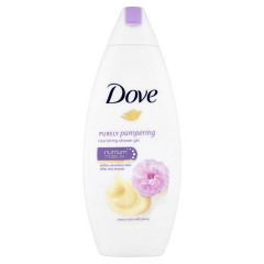 Dove Purely pampering sprchový gel smetana s pivoňkou  250 ml