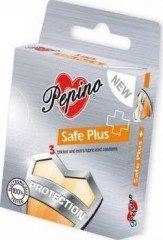 Pepino Safe Plus kondomy 3 ks