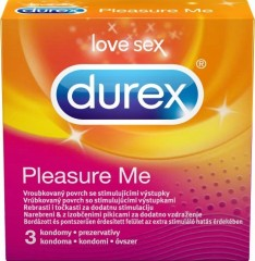 Durex Pleasure Me kondomy 3 ks