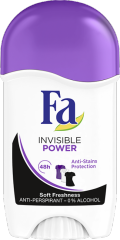 Fa Invisible Power tuhý antiperspirant 50 ml