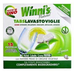 WINNIS TABS LAVASTOVIGLIE tablety do myčky 15 ks