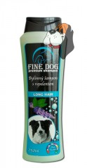 FINE DOG Long Hair bylinný šampón s repelentem 250 ml