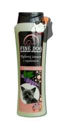 FINE DOG Small Dog bylinný šampón s repelentem 250 ml