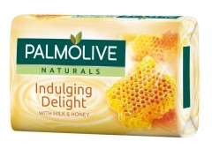 Palmolive Naturals Indulging Delight Milk & Honey mýdlo 90 g