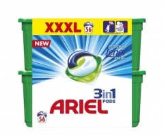 Ariel Touch of Lenor gelové kapsle 56 ks