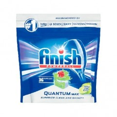 Finish Quantum Max Apple Lime Blast tablety do myčky 36 ks