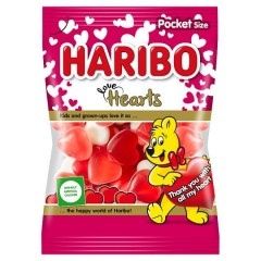 Haribo Love Hearts 100g