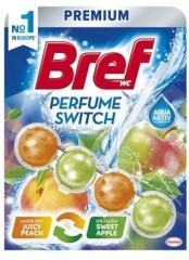 Bref Perfume Switch Peach Apple WC blok 50 g