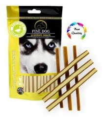 FINE DOG sandwich strips kachní 80g