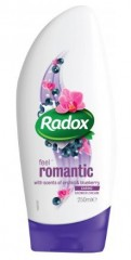 Radox Feel Romantic sprchový gel, 250 ml