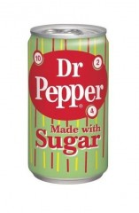Dr. Pepper Made with sugar USA 355ml