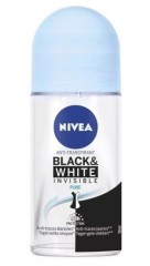 Nivea Invisible for Black & White Pure kuličkový antiperspirant 50 ml