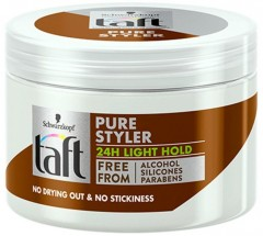Taft Pure Styler Light Hold gel na vlasy, 150 ml