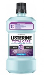 Listerine Total Care Sensitive Mild Taste ústní voda, 500 ml
