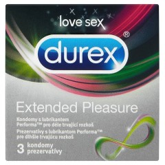 Durex Extended Pleasure kondomy 7 x 3 ks (21 ks)