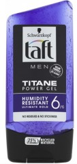 Taft Men Titane Power Gel gel na vlasy, 150 ml