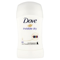 Dove Invisible Dry tuhý antiperspirant  40 ml