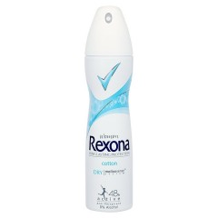 Rexona Cotton dry&Fresh antiperspirant sprej 150 ml