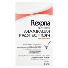 Rexona Maximum Protection Confidence antiperspirační krém 45 ml