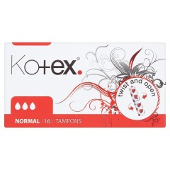 Kotex Normal tampóny 16 ks/bal.