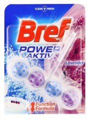 Bref Power Aktiv WC blok, Lavender  50 g