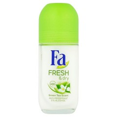 Fa Fresh & Dry Green Tea roll-on bez alkoholu, 50 ml
