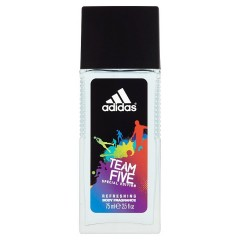 Adidas Team Five deodorant ve skle 75 ml