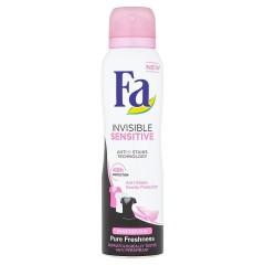 Fa Invisible Sensitive antiperspirant ve spreji 150 ml