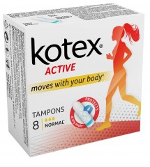 Kotex Active Normal tampony 8 ks