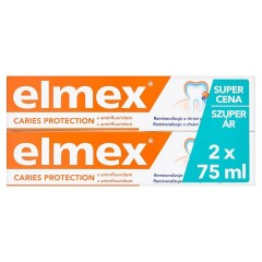 Elmex Caries Protection zubní pasta 2 x 75 ml